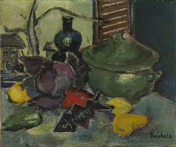 Still Life with a Green Tureen