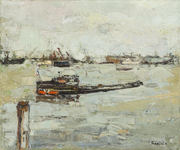 The Amsterdam Harbor