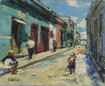 >Street in San Cristobal, Mexico