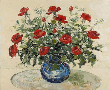Bouquet aux roses