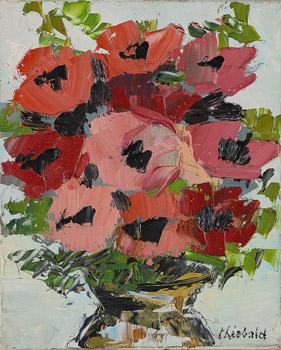 Les anémones roses
