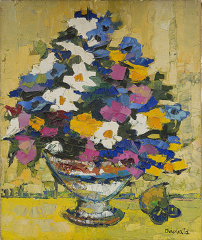 Bouquet en cône