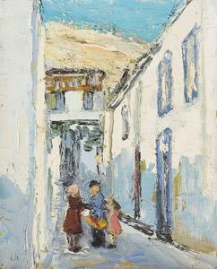 Petite ruelle à Athènes
