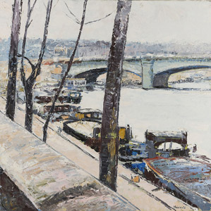 La Seine au Pont de la Concorde