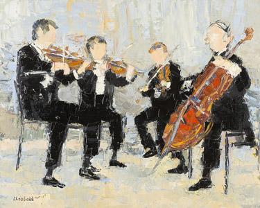 Le quatuor Borodine