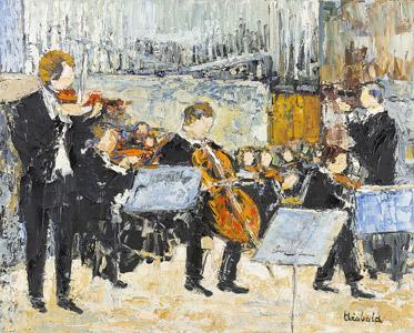 Orchestre dans l'église