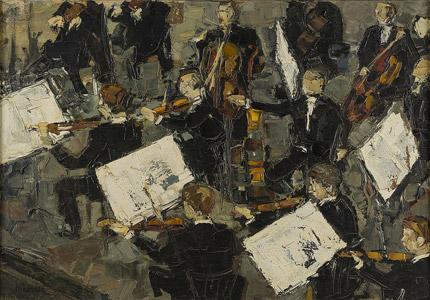 Dans la fosse d'orchestre