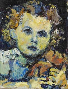 Portrait de Florence, sa fille