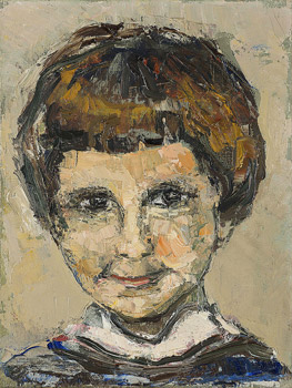 Portrait de Valérie, sa fille