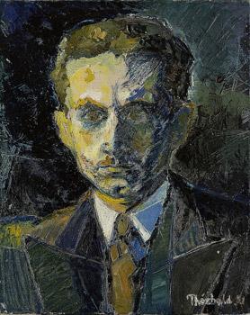 Portrait de Bernard, son premier mari