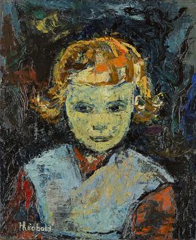 Portrait de Sylvie, sa fille