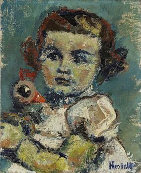 Portrait d'Arièle, sa fille