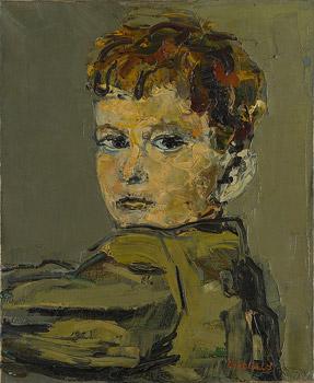 Portrait de garçon de dos
