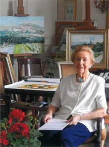 Théobald, Cinquante ans de peinture