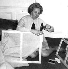 Théobald, les années 50