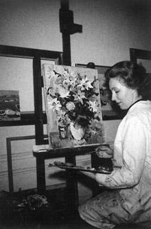 Théobald, Les bouquets de fleurs