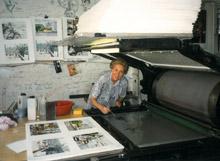 Théobald, Les lithographies